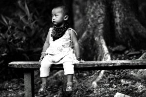 LONELY CHILD by praveenchettri