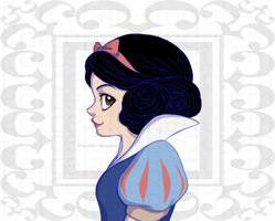 Snow White by Porcelain-Requiem