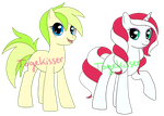 Pony/Custom Adoptables -+OPEN+- Green Pony Only by Togekisser