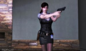 Special Agent Claire Redfield (Re-updated) by bstylez