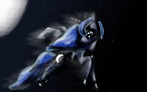 Princess of the night by Silvy-Fret