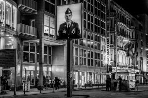 Night at the Checkpoint Charlie by TheMetronomad