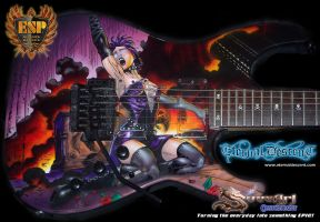 Eternal Descent Guitar 01 by Svee