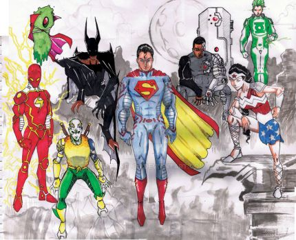 Justice League Redesign by MattWelch