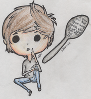 Liam Payne says AHH! SPOONS! by Nonsensical-Me