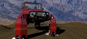 FJ40 Quadraped  Render 3 by ltla9000311