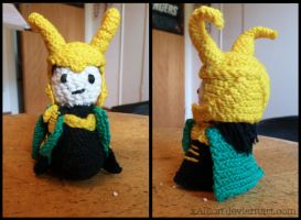 Loki Amigurumi by xAllion