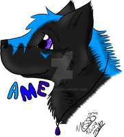 ame badge by nessylucy