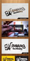 Swag Monkey Logo Template - Graphicriver by Changyik