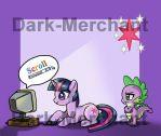 Twilight mousepad- available by Dark-Merchant