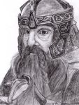Gimli son of Gloin by AinuLaire
