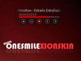 Onesmile RedBlack by quikdone