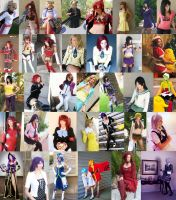 Cosplay Collage 2007-2010 by Bianka