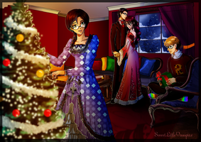 Tis The Season To Be Jolly by SweetLittleVampire
