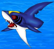 Sharpedo by PlagueDogs123