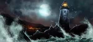 MM: Kirimori Lighthouse by VolatileDinners