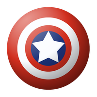 The Shield of Captain America by Blackmoonrose13