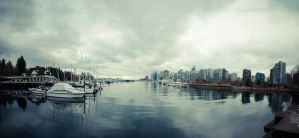 Stanley Park Panorama B by elektrikheat