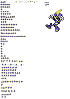 merlow sprite sheet (kirby version) by Kspriter95