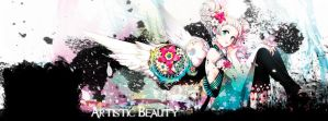 Artistic Beauty Facebook Cover version 3 by Convicted-Vixen