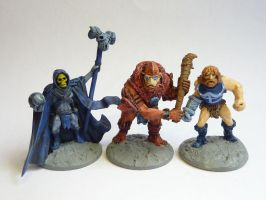 Masters of the Universe conversions by rhx-No-Quarter