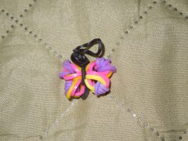 Loom Charm: Butterfly by Culinary-Alchemist