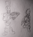 sketch papyrus by MrRacoon