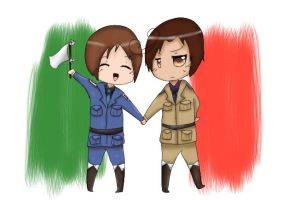 North and South Italy by Sparkly-Ninja