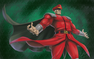 M. Bison by lizbomb