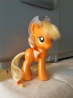 MLP:FiM Applejack Toy with Restyled Hair by x0xChelseax0x