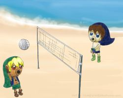 play on the beach by vampireotakuhime-san