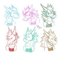 -C- Thorn Expressions by EmzieTowers