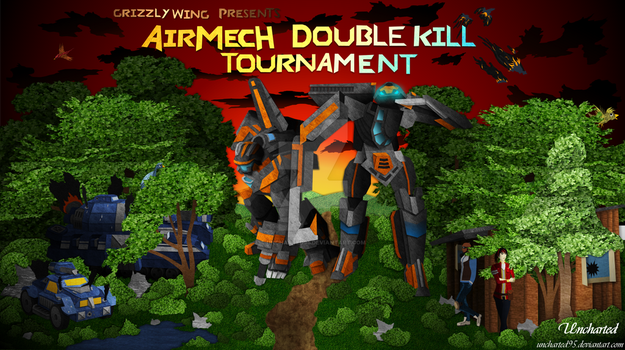 Airmech Double kill tournament Refurbished V2! by Uncharted95