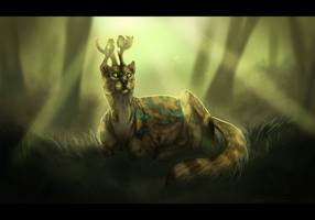 Ocelot Deer 2 by Umbrafen