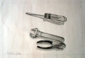 drawing 1- tools by adagia