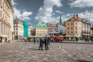 afternoon in Riga by Rikitza