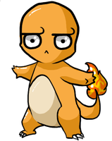 That's an odd Charmander... by JellyTheTangrowth