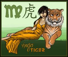 Virgo Tiger by bechedor79