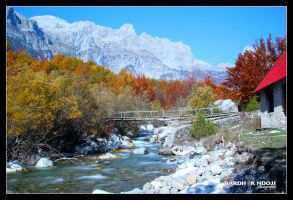 Albanian Alps in Autumn by ChR1sAlbo