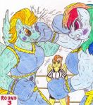 Boxing Anthro RD vs LB by Jose-Ramiro by donasker