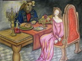 Beauty and Beast for Rachel by Sidhe-Etain