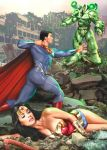SUPERMAN AND WONDER WOMAN CLAUDIO ABOY by claudioaboy