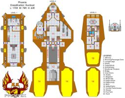 The Phoenix - Deckplan: Done by Tensen01