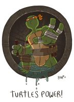 Michelangelo by stayte-of-the-art