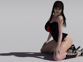 Baroness Wallpaper by bigcurf