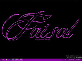 my simple desktop by Faisalharoon