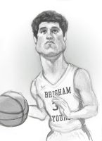 Jimmer Fredette Sketch by infernovball