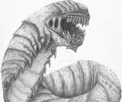 Gears of war 2-Rift Worm by jpizzle6298