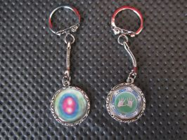 CoH keychains by Rei2jewels