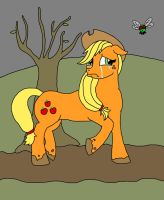 Poor Apple Jack.. Crying by friesianloverl2K